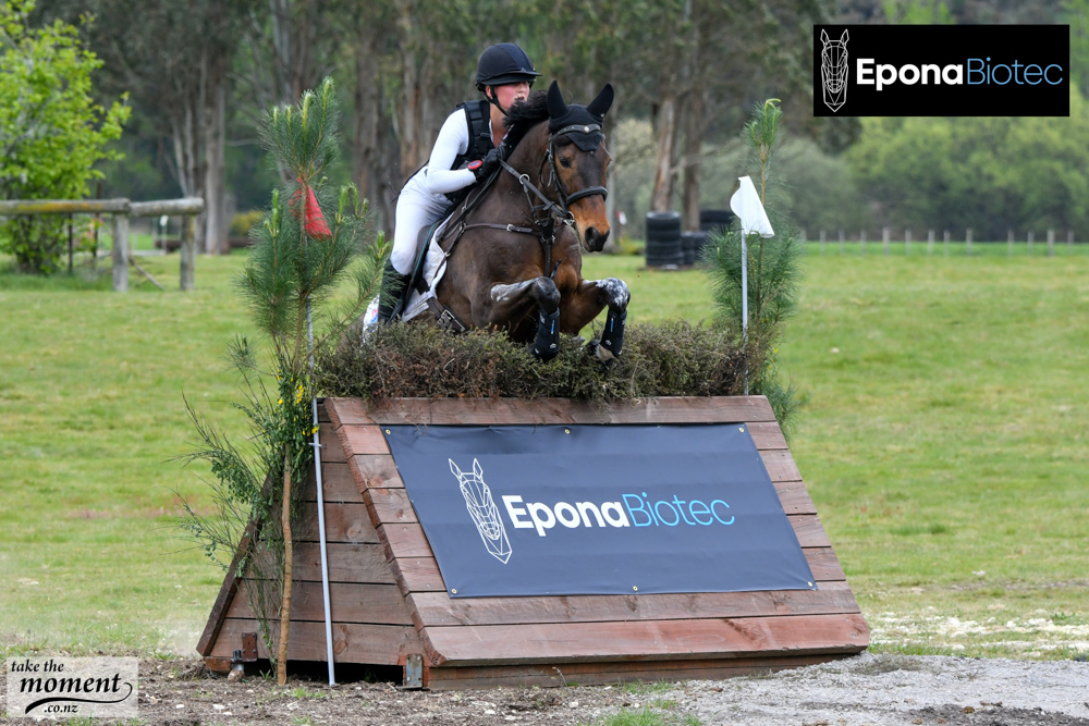 Brittany Fowler riding Apsley Backchat Kid